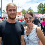 Stanthorpe Apple and Grape Festival, Stephen and Nicole Grubic from Stanthorpe
