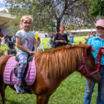 Stanthorpe Apple and Grape Festival, Layla Wilson from Stanthorpe and Kiara Charlton.